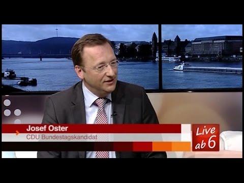 DRF Interview mit Bundestagskandidat Josef Oster