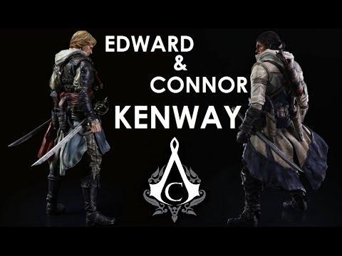 Edward Connor Kenway Aciv Black Flag Assassin S Creed Iii