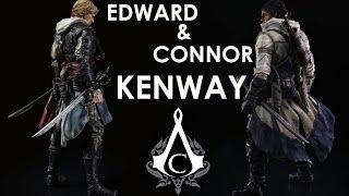 Edward & Connor Kenway   ACIV: Black Flag & Assassin's Creed III