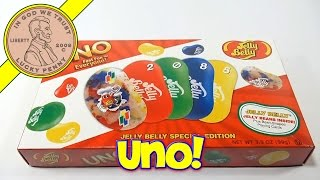 Jelly Belly Special Edition Uno Gift Box, 2012