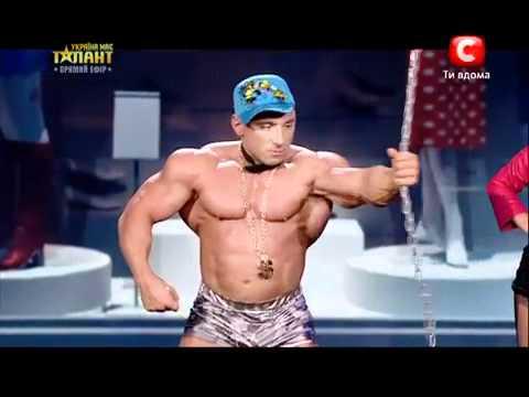 Украина мае талант 4  АНДРЕЙ ШАРАПОВ  2 полуфинал  2012