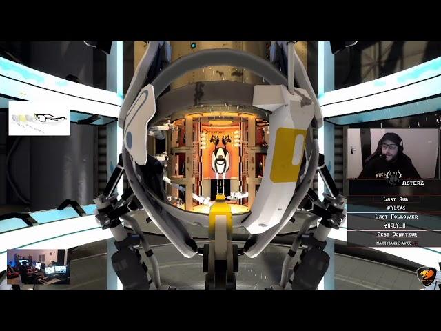 [REPLAY DU LIVE 🔴] IRL Sur Portal à l'ancienne !! Part #2