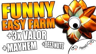 FUNNIEST/EASIEST FARM FOR THE RARE GHOST SHELL! | Destiny 2 Mayhem Funny Gameplay!