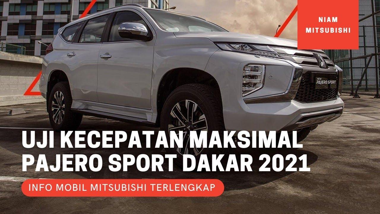Tes Kecepatan Maksimal Mitsubishi Pajero Sport 2021