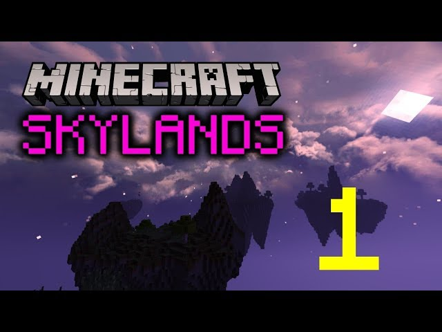 🎮 Minecraft Skylands | Episode 1 | Let's play FR