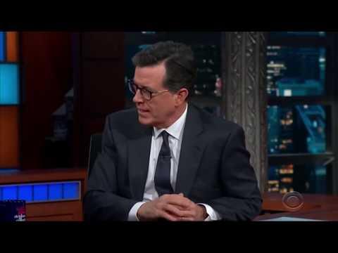What do you think happens when we die? Keanu Reeves on Colbert