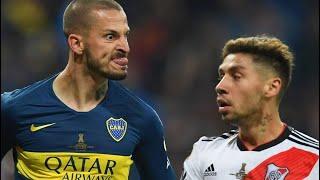 POLÉMICO FESTEJO DE BENEDETTO CON MONTIEL   Boca Juniors vs River Plate Final Copa Libertadores