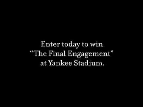 The Final Engagement - Michael C. Fina, NY Yankees...