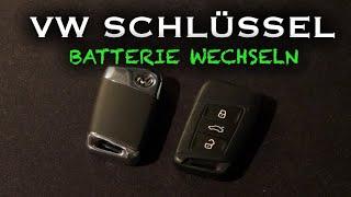 Skoda superb schlüssel batterie wechseln