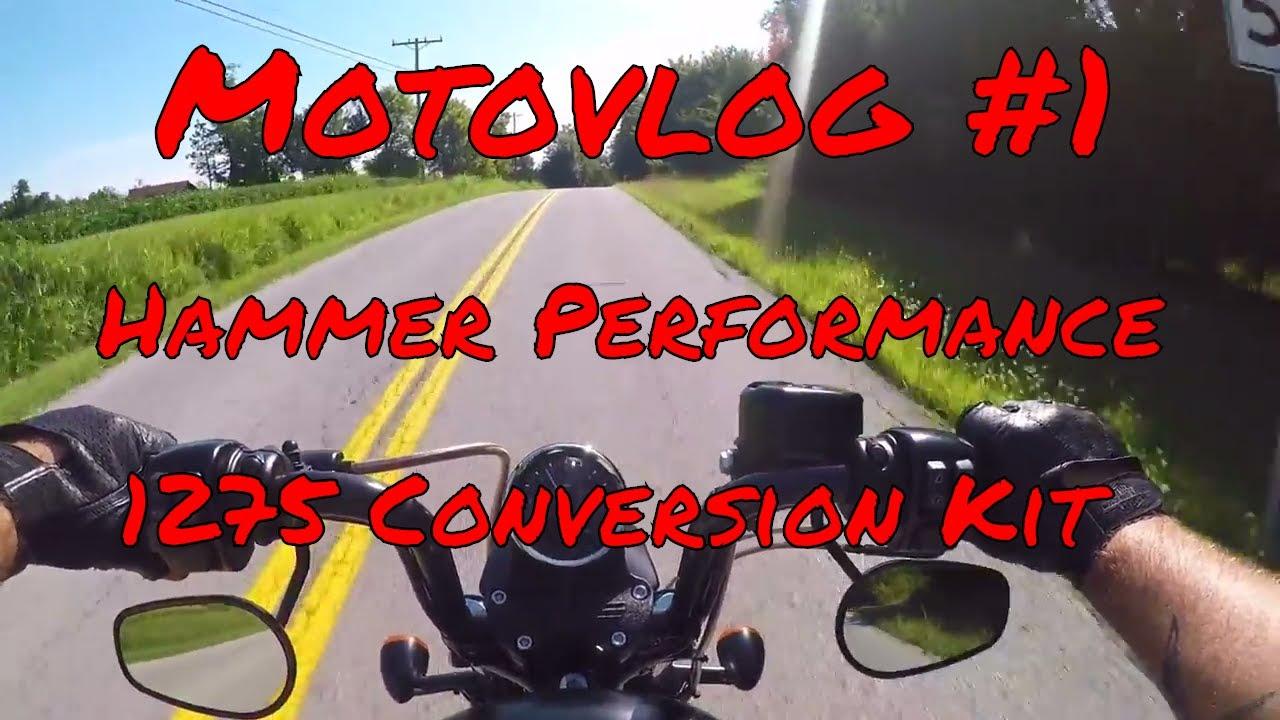 Sportster Iron 883 Motovlog #1 - Hammer Performance 1275 Kit