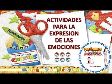 Actividades y juegos para niños - actividades para expresar emociones y sentimientos