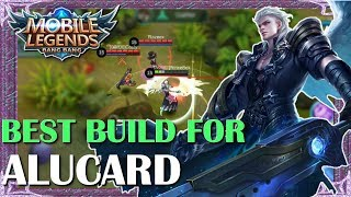 Mobile Legends Best Build In Any Situation For Alucard | Mythical Academy # 3