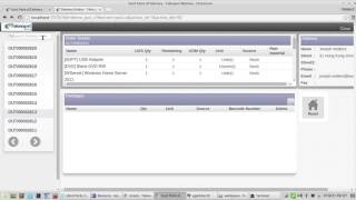 Point of Delivery With Odoo(up/down) button to search Delivery order