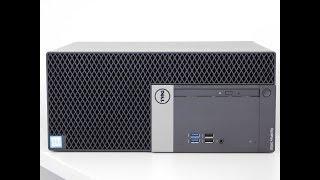 Dell Optiplex 5050 desktop PC Intel Core i7-7700 inside and out - IT show