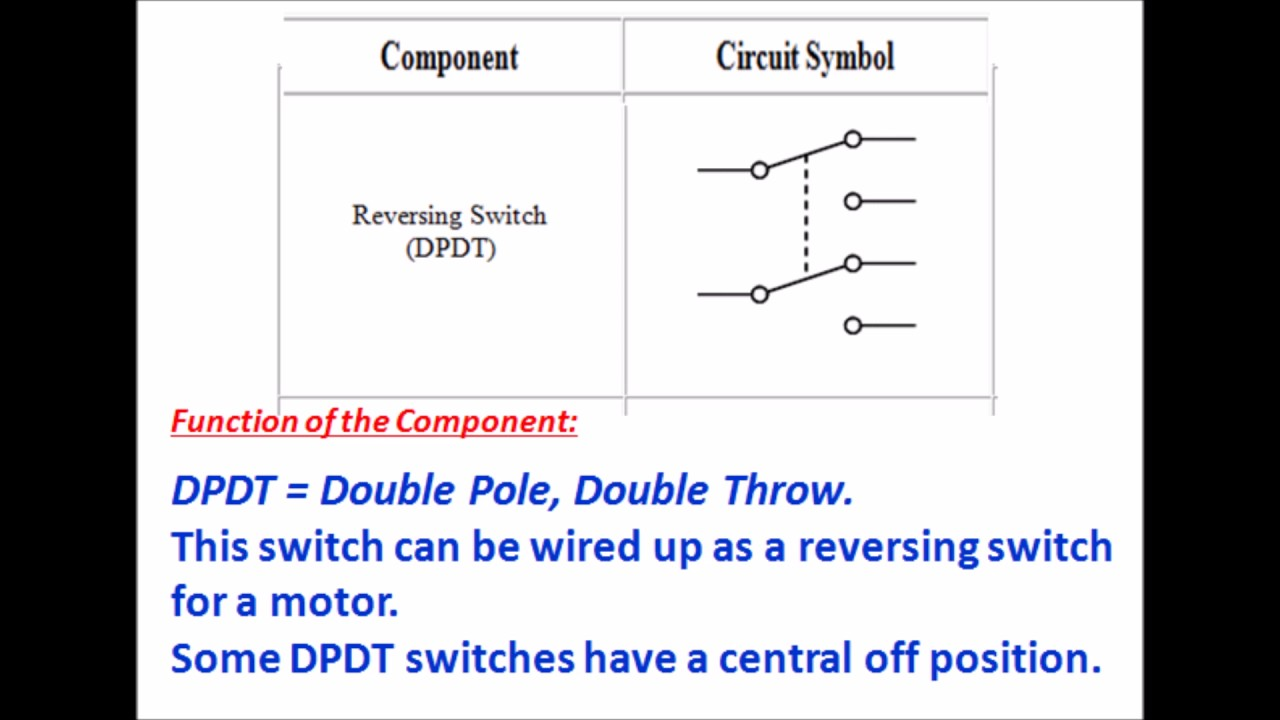 Luxury Double Pole Double Throw Switch Schematic Image Collection ...