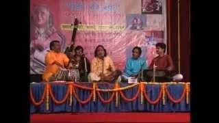 Thumri-basuriya ab na bajao re shyam by chhannulal mishra | patna live