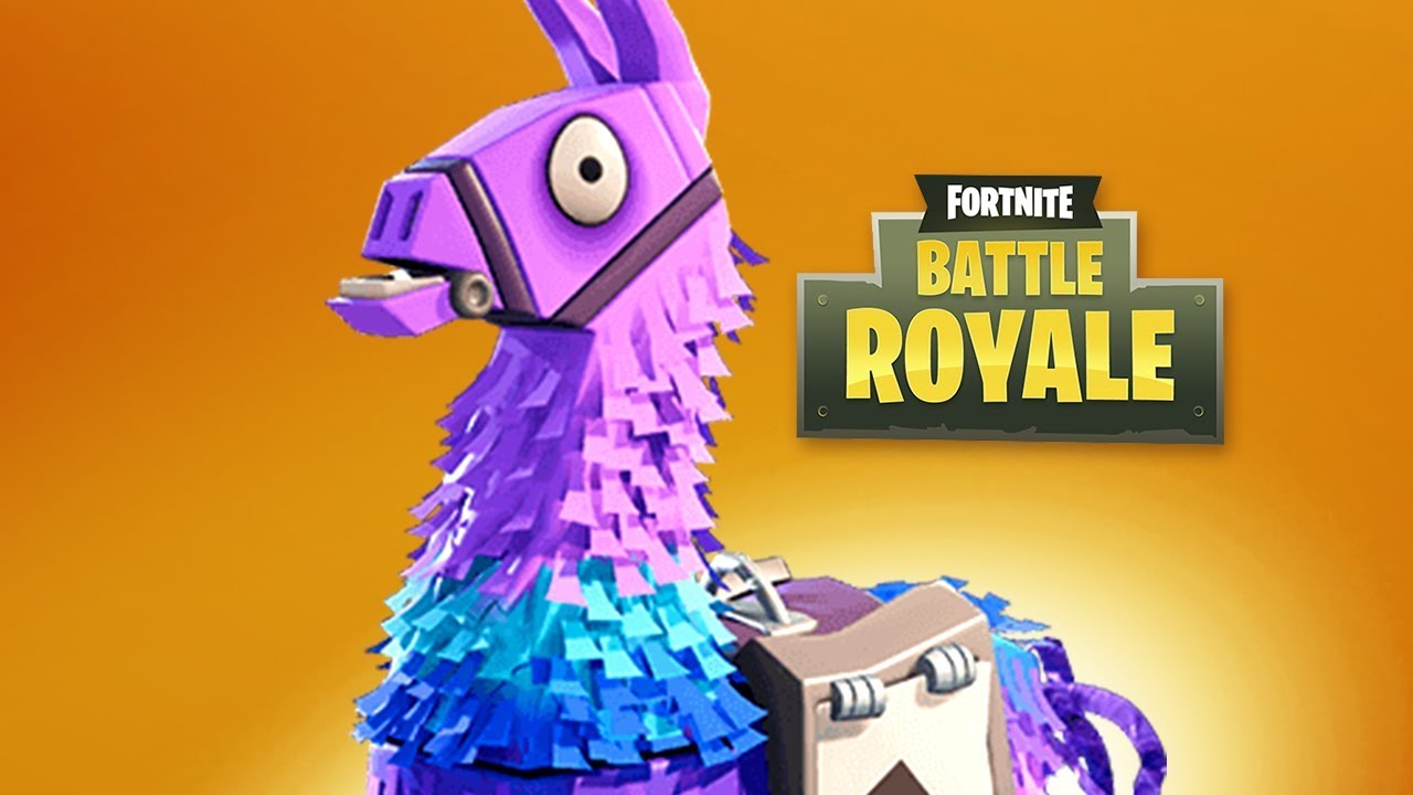 Loot infinito nas lhamas fortnite battle royale youtube - Fortnite llama background ...