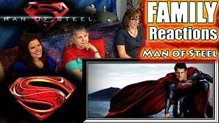 Man of Steel | FAMILY Reactions