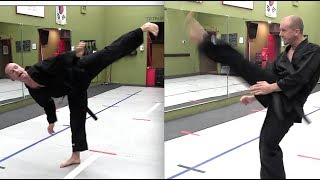 HOW TO KICK HIGHER & GET MORE POWER | KUNG FU KICKS