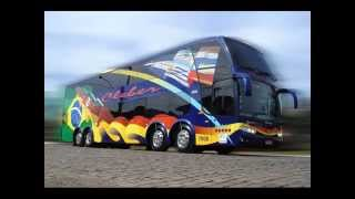 Som do motor do ônibus Scania K420