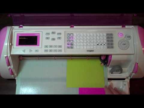 Cricut Tutorial Episode 164 - Songbird Cartridge SB Page