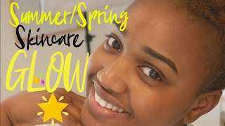 Summer/Spring Skin Care Routine for Dry Skin