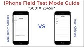 iPhone Field Test Mode Signal Strength Indicator - YouTube