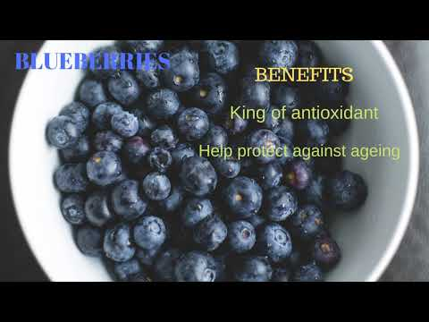 Healthy eating(top 5 fruits)