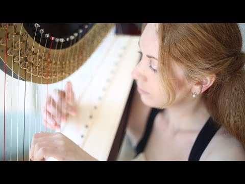 "Kathrin Butterfly - harp, ""Clair de Lune"" - Claude Debussy"