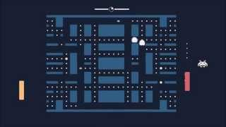 Pacapong - Pacman + Pong + Space Invaders = Awesome!