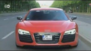Тест-драйв: электромобиль Audi R8 e-tron(Автомобиль R8 e-tron -- это реализация идеи компании Audi, решивший спроектровать электрический спорткар будущег..., 2013-07-08T15:22:19.000Z)