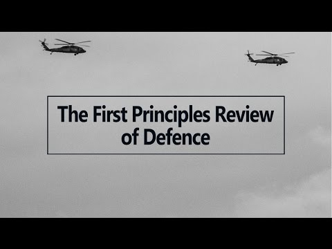 The First Principles Review of Defence - A panel discussion at ASPI