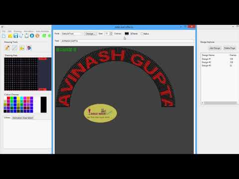 Adding Text In Pixel Arch Gate India Software Youtube