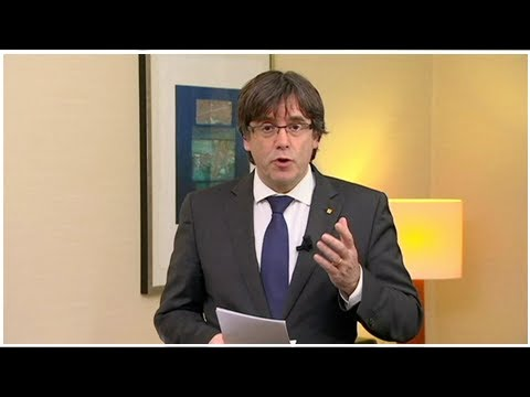 Ousted catalan president, 4 others in custody in brussels