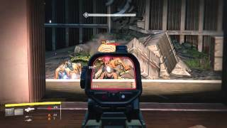Destiny Strike with High Road Soldier Legendary Scout Rifle