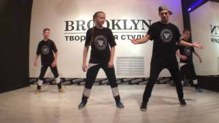 4 урок, kick step (кик стэп)