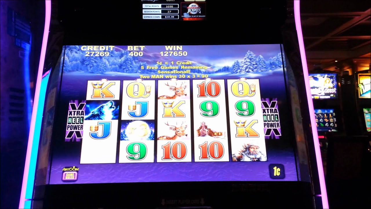 Timber Wolf Casino Slot Machine Huge Win Youtube