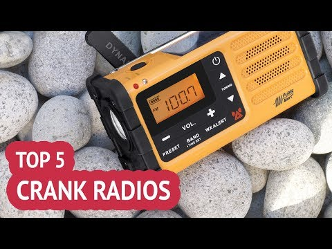 5 Best Crank Radios 2018 Review