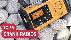 5 Best Crank Radios  Review