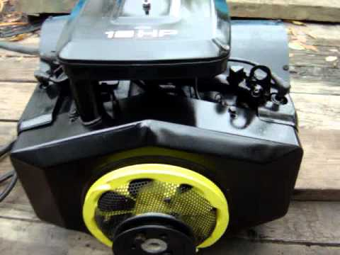 briggs stratton 18hp twin youtube. Black Bedroom Furniture Sets. Home Design Ideas