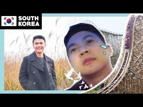 haneul-park-🌾-+-everland-🎢-t-express-wooden-roller-coaster-(south-korea)-🇰🇷-|-tricksterzph