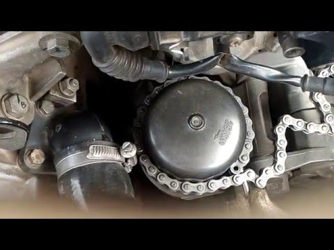 how to clean a fuel filter without removing it