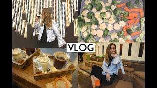VLOG | Benimle kahve dolu bir gün| Nespresso mağazası,Market alışverişi