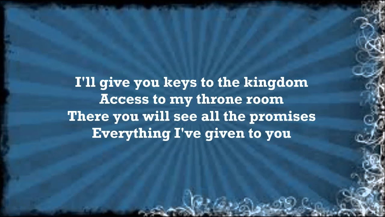 The Potter's House Lyrics - VaShawn Mitchell | Lyricscode