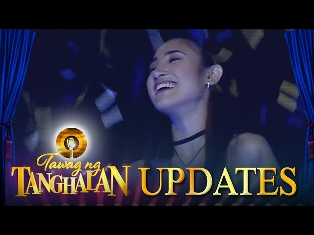 Tawag ng Tanghalan Update: Arabelle enters the semi finals!