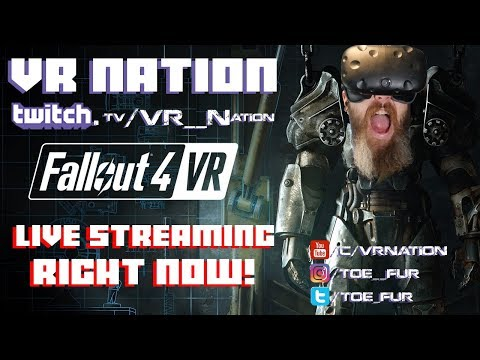 FALLOUT 4 VR - Total Fallout Noob. This is gonna be interesting.  Come hang out and help!