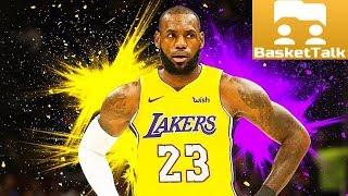 """BasketTalk #61: ЛеБрон Джеймс в """"Лейкерс"""" и другие сделки раннего межсезонья НБА"""