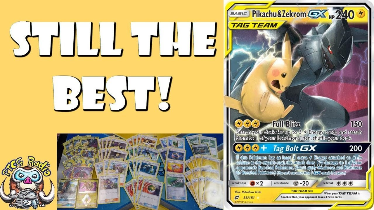 Best Pokemon Decks 2019 Pikachu & Zekrom is Still the Best Deck in the Pokemon TCG!   YouTube