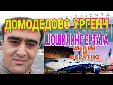 АВИА БИЛЕТ ДОМОДЕДОВО УРГЕНЧ ЕРТАГА АКЦИЯ ШОШИЛИНГ И УРГЕНЧ МОСКВА @Yoʻldoshbek Karimov