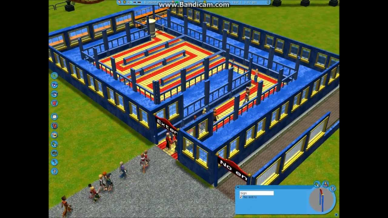 Rct3 Roller Coaster Tycoon 3 Tutorial Build Sheikra – Fondos de Pantalla